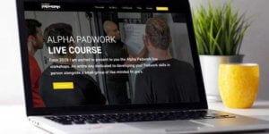 Padwork website design