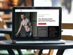 David Kingsbury Homepage Design