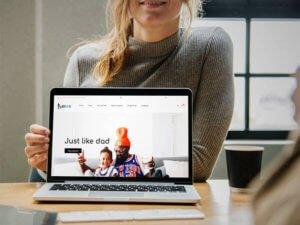 Just Like U Website Design