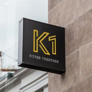 K1 Gym Branding