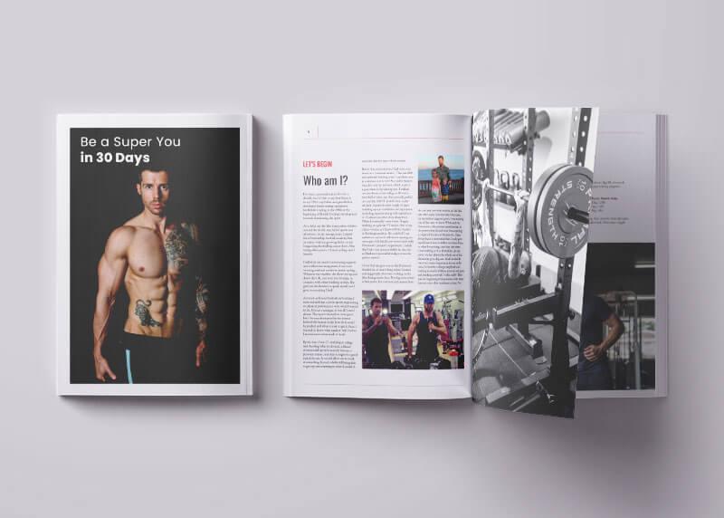 David Kinsgbury Brochure Design