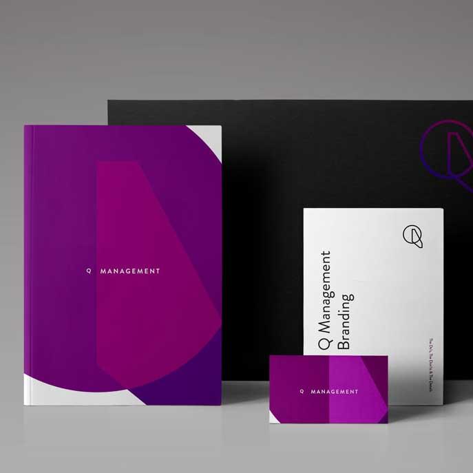 QM Company Branding