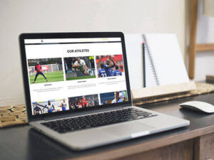 The Athletic Network Website Design