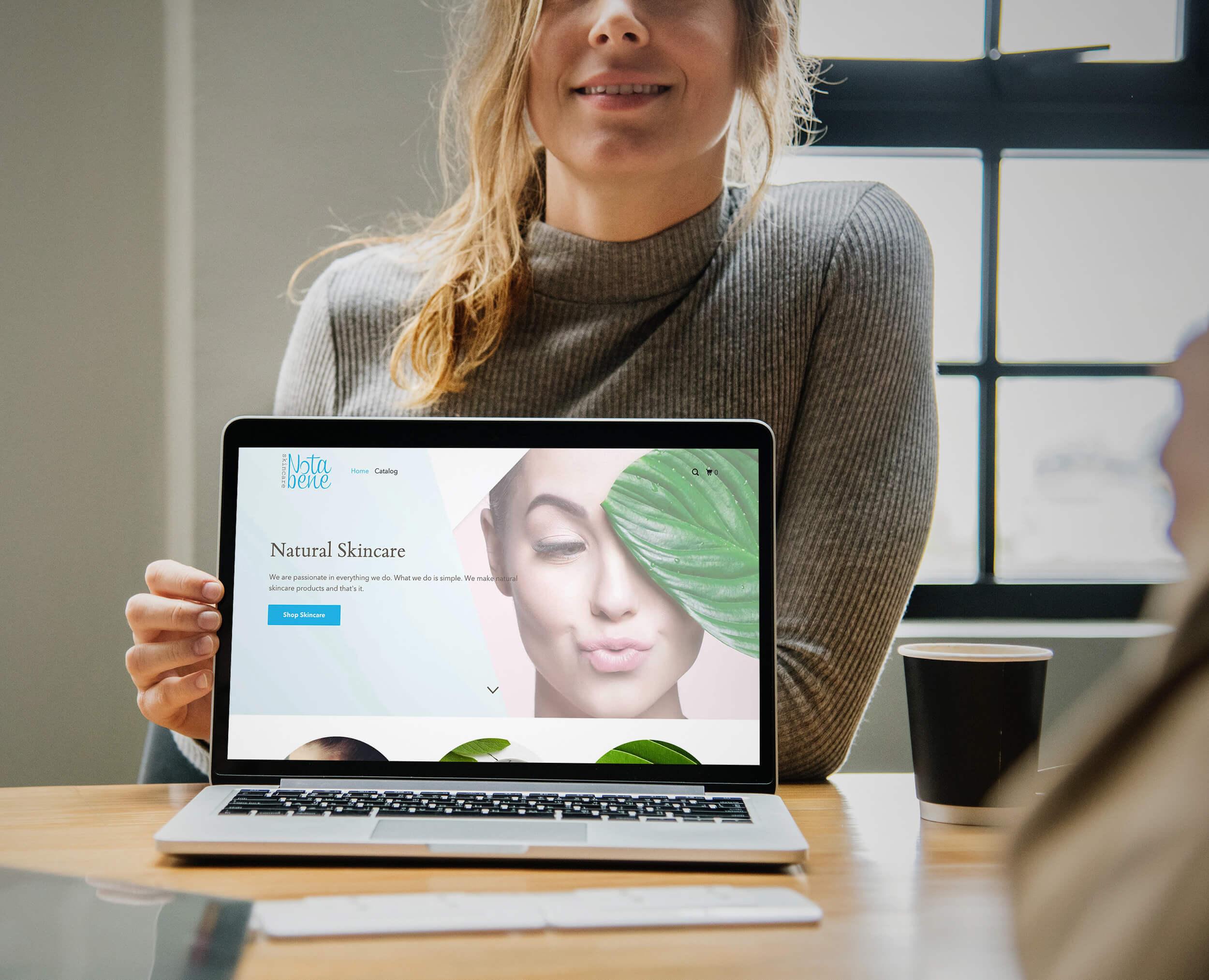 NotaBene Shopify Design
