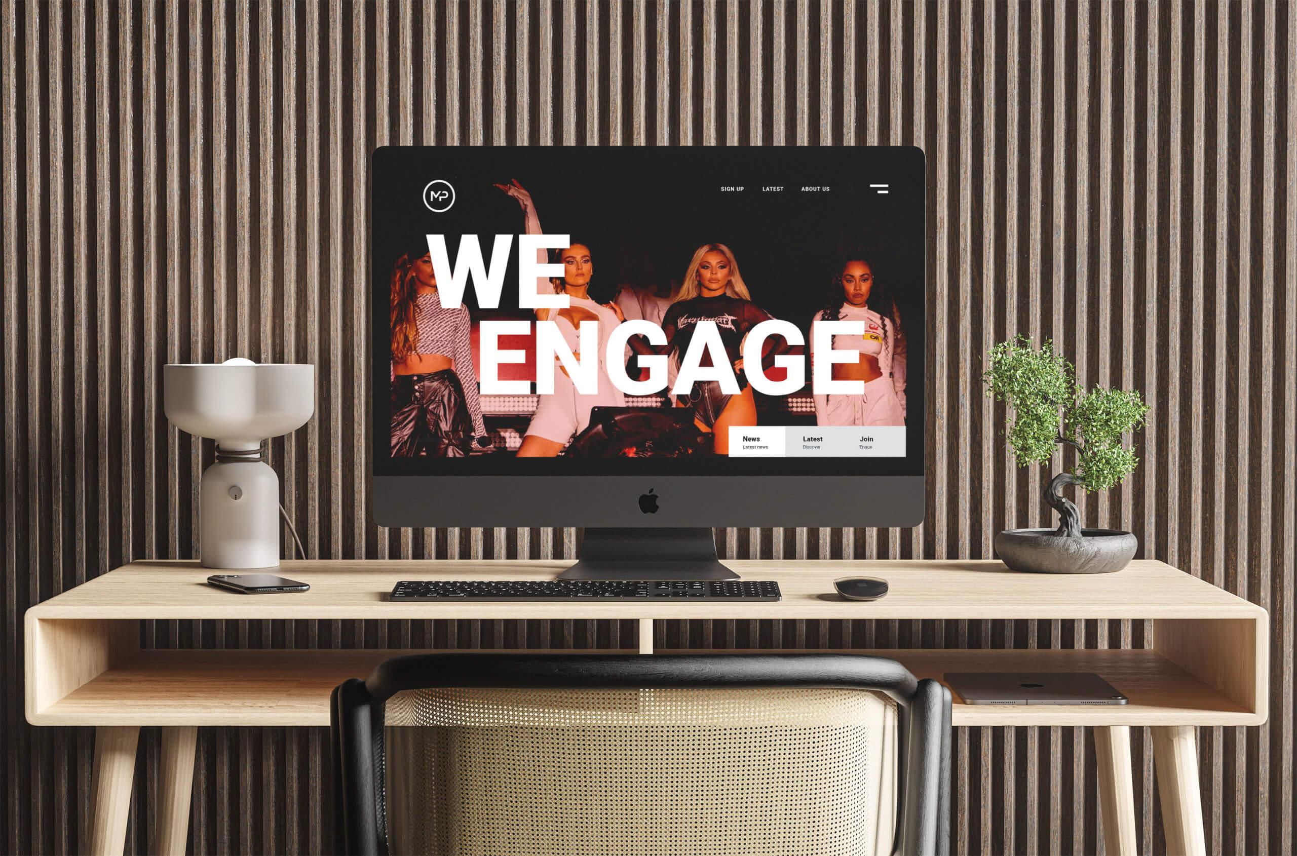 WeEngage Social Platform Design