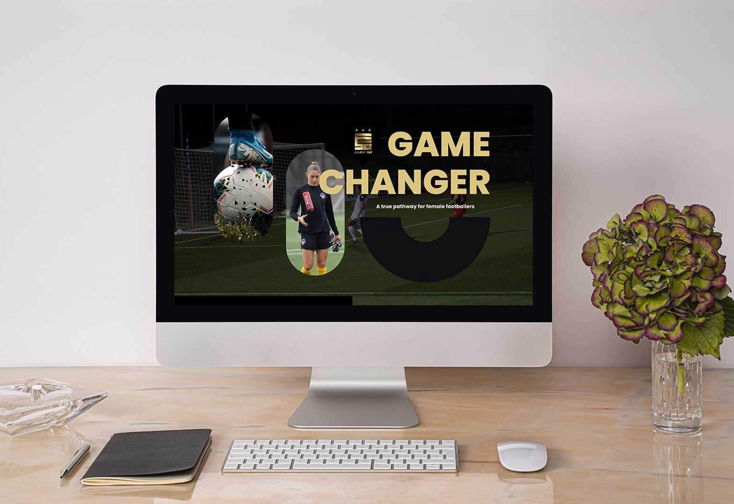 Female Football Website Project
