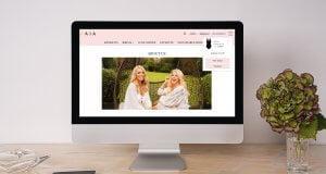 NAIA Beach Ecommerce web design