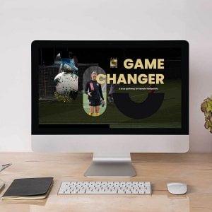 Female Football Webiste Project