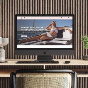 NAIA Beach Ecommerce Homepage
